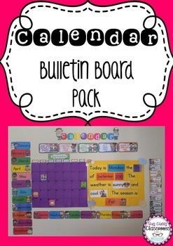 Calendar Bulletin Board Pack - Northern Hemisphere