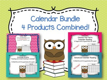 Calendar Bundle - 4 Great Products Combined