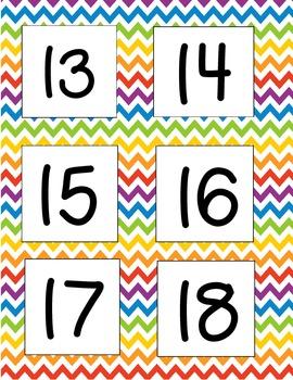 Calendar Bundle (Chevron)