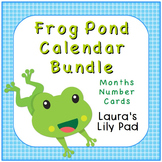 Calendar Frog Pond Theme Set