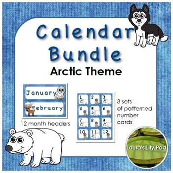 Polar Theme Calendar Bundle