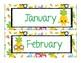 Calendar Bundle with Cute Pineapples
