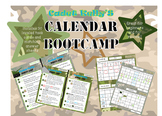 Calendar Cadet!  Awesome Leveled Calendar Practice & Answer Pages