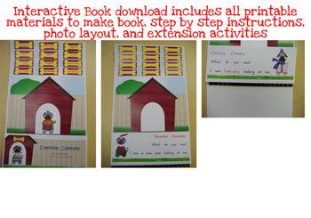 Calendar, Calendar - Shared Reading Interactive Book - Printable