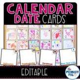 Calendar Card Dates