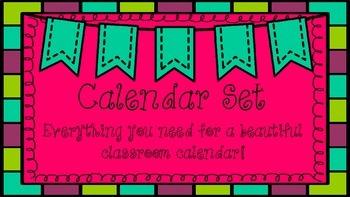 Calendar Card Set