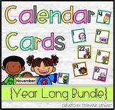Calendar Cards {Bundle}