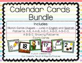 Calendar Cards Bundle- Full Year Set!