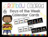 Calendar Cards- Days of the Week