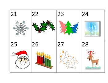 Calendar Cards- December