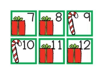 Calendar Cards-December Christmas