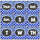 Calendar Cards Dots and Chevron