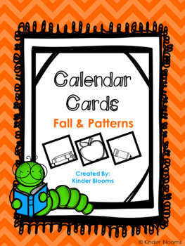 Calendar Cards {Fall & Patterns}