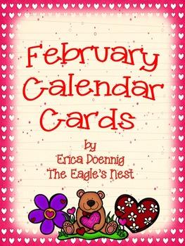 Calendar Cards--February