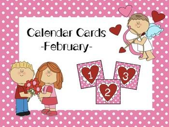 Calendar Cards- February