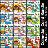 Calendar Cards Full Year Bundle