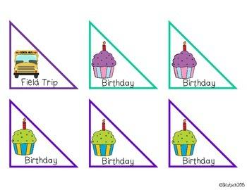 Calendar Cards - Holiday & Special Events