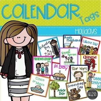 Calendar Cards: Holidays