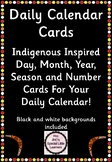 Calendar Cards - Indigenous Theme