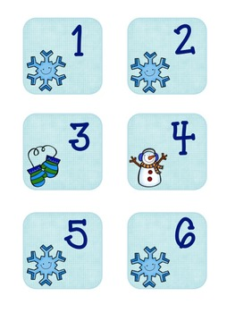 Calendar Cards--January