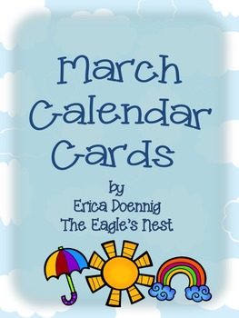 Calendar Cards--March