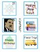 Calendar Cards Part 1: January- May