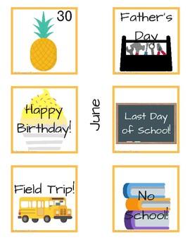 Calendar Cards Part 2: June-October