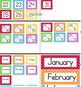 Calendar Cards (Polka Dot ALL COLORS + Rainbow)