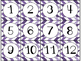 Calendar Cards Set - 4  Designs (Purples)