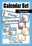 Calendar Cards Set - December NATIVITY {FREE}