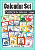 Calendar Cards Set Holidays and Special Days