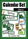 Calendar Cards Set - March
