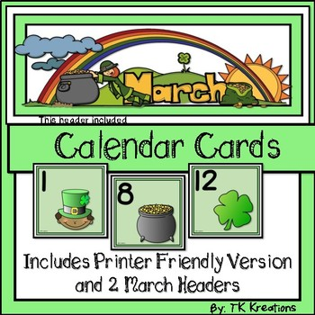 Calendar Cards Year Long Bundle