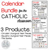 *UPDATED*Calendar Cards for Catholic Classroom (Cards only)(2019-2020 & General)