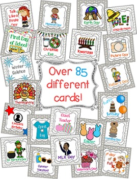 Calendar Cards for Holidays and Special Occasions