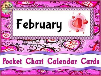Calendar Cards - February