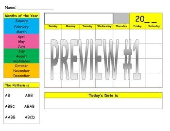 Calendar Center {Bundle}