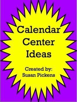 Calendar Center Ideas