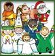 Calendar Characters:  Winter Holiday and Seasonal Clip-Art Set!
