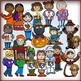 Calendar Characters: Fall Holiday and Seasonal Clip Art