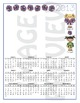 Calendar Cheerleading 2013 - English - Spanish