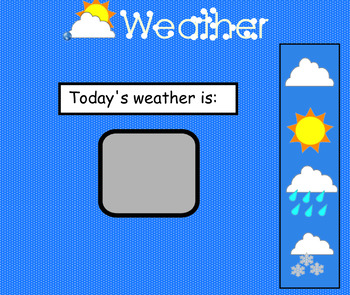 Calendar - Circle time smartboard (1 of 4)