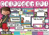 Calendar Classroom Decor (Happy and Bright)