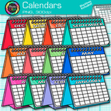 Calendar Clip Art {Back to School Graphics for Classroom Morning Meetings} 1