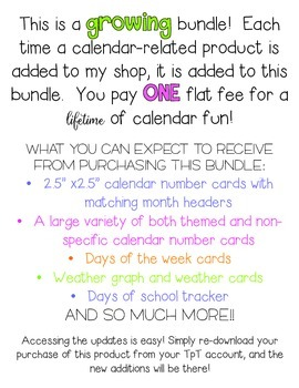 Calendar Club Bundle - Lifetime Updates {HUGE SAVINGS!}
