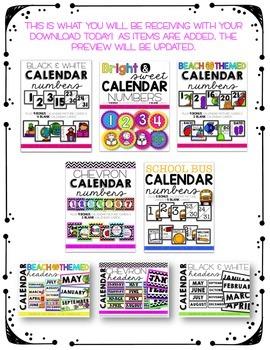 Calendar Club Bundle - Lifetime Updates {HUGE SAVINGS!}