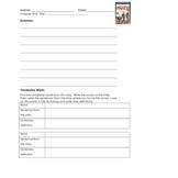 Calendar Club Back to School Burlgar Chapter Book Unit