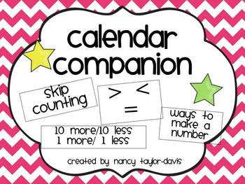 Calendar Companion (Pink Chevron)