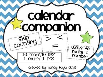 Calendar Companion (Blue Chevron)