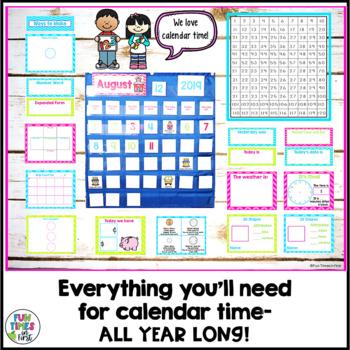 Calendar Companion (Bright Chevron Theme)